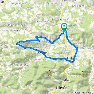 Rotheau - Kaiserkogel - Sonnleiten - Traisen - Rotheau