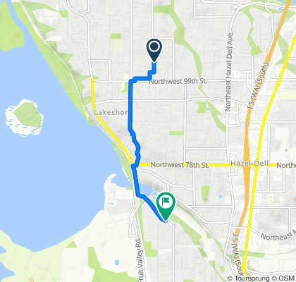 1401–1499 NW 103rd Cir, Vancouver to 6311 NW Bernie Dr, Vancouver