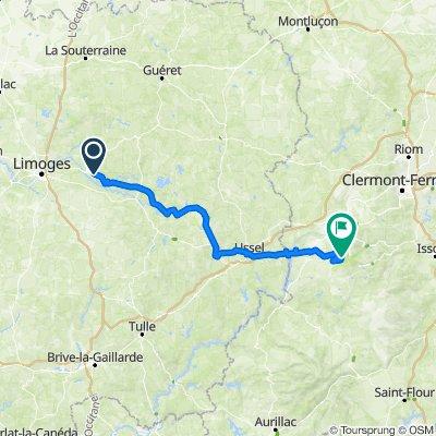 TDF neu 4. Etappe Saint Leonard de Noblat  - Chastreix-Sancy