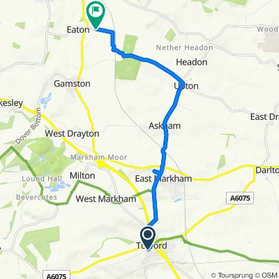 Newcastle Street 24, Tuxford to Unnamed Road