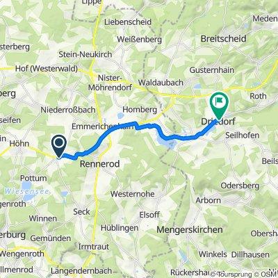 In der Wies 4, Hellenhahn-Schellenberg nach Wilhelmstraße 16, Driedorf