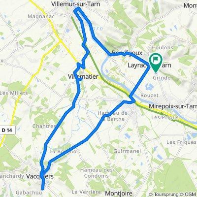 De 679 Route de Mirepoix, Layrac-sur-Tarn à 679 Route de Mirepoix, Layrac-sur-Tarn