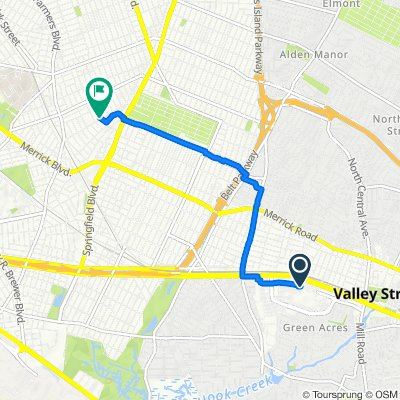 1200–1212 Green Acres Mall, Valley Stream to 193-05 122nd Ave, New York