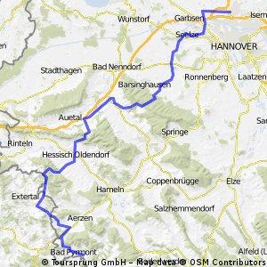 Langenhagen - Bad Pyrmont RR
