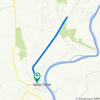 Ruta a Perugorria 932, Santo Tome