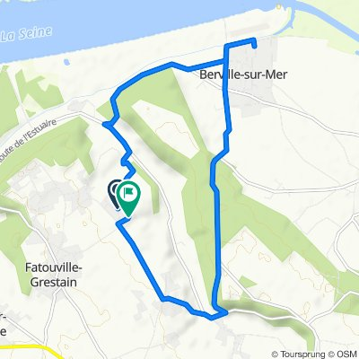 De 176 Rue du Feugré, Fatouville-Grestain à 111 Impasse d'Aumale, Fatouville-Grestain