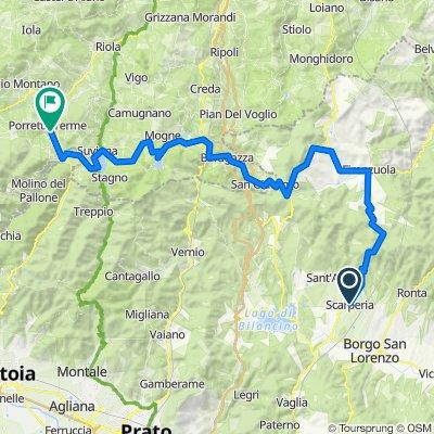 4bis_ Scarperia - Porretta Terme