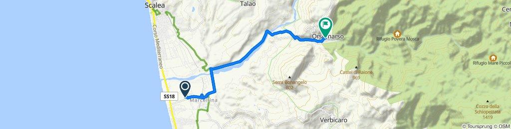 Da Via Antonio Scopelliti 140, La Bruca a Via Giuseppe Ziccarelli 37, Orsomarso