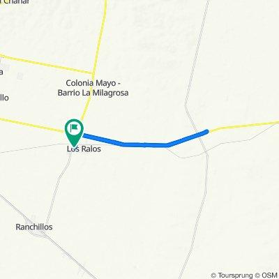 De Liniers 202–300, Los Ralos a Liniers 202–300, Los Ralos