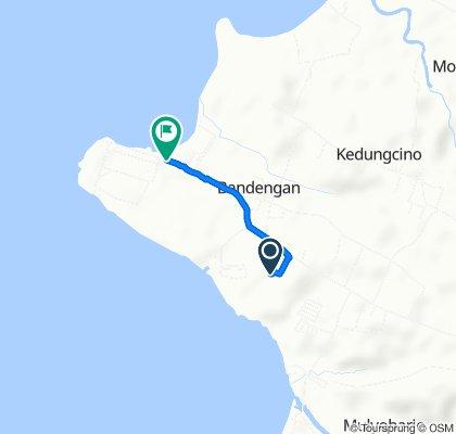 Route to Jalan Tirto Samudro 1, Jepara