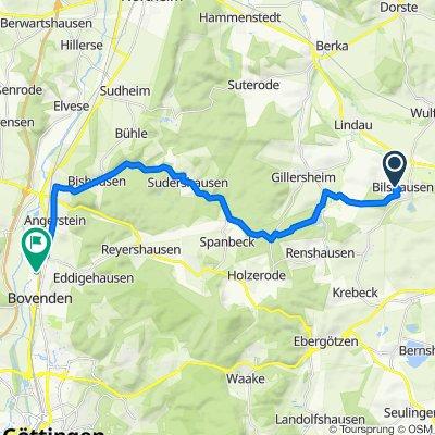 Bilshausen nach Leinetal, Bovenden