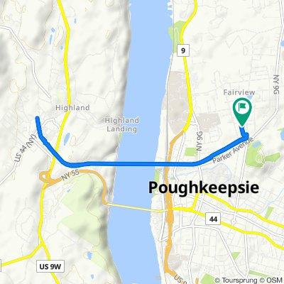 Kelsey Road 38, Poughkeepsie to Kelsey Road 38, Poughkeepsie