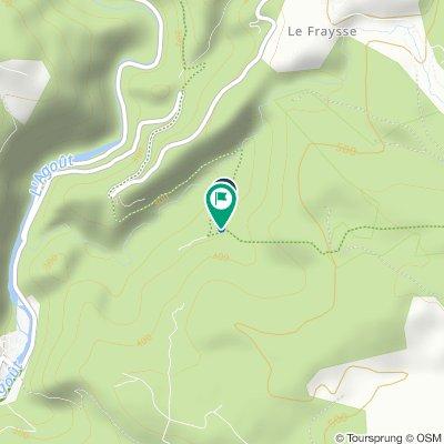 Itinéraire vers La Ferrière, Burlats