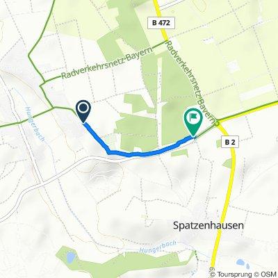 Route von Keltenstraße 8–14, Eglfing