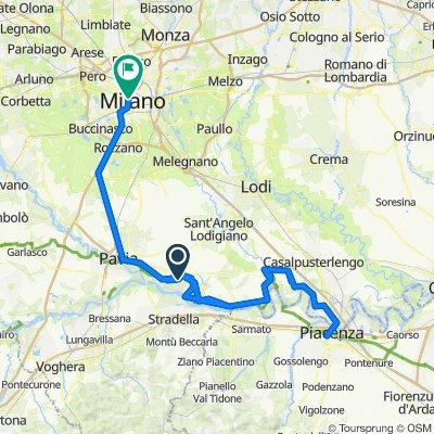 Milano - Pavia - Piacenza