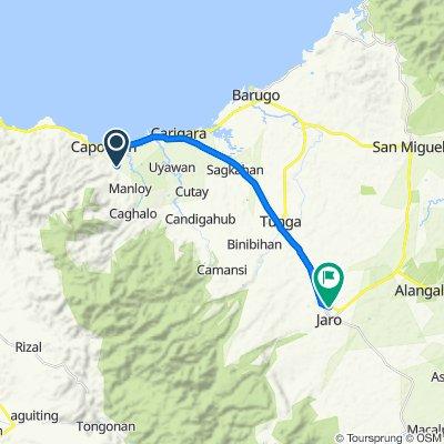 Capoocan to Eastern Nautical Highway, Jaro