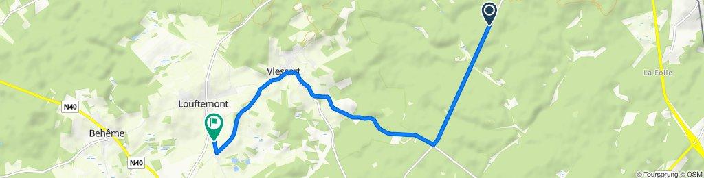 Itinéraire vers Rue du Terrage 9, Léglise