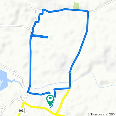 1st town ride on 8.8.2020