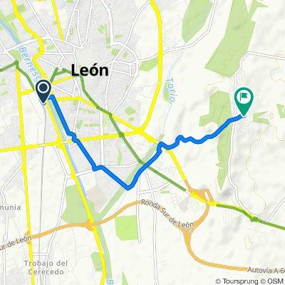 León -  Camping Ciudad de León