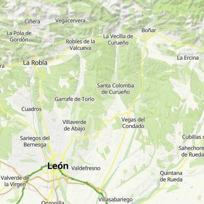 León -  La Vecilla (Camping la Cota)