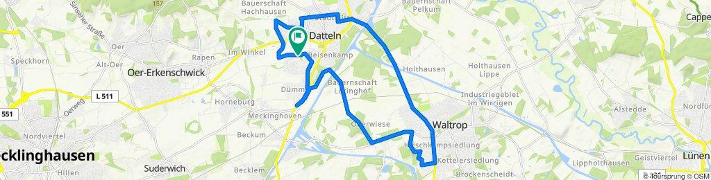 Hagemer Kirchweg 60, Datteln nach Hagemer Kirchweg 62, Datteln