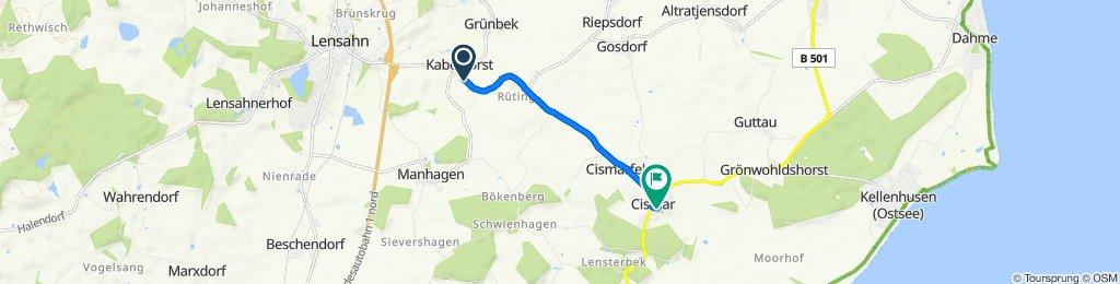 Bäderstraße 8, Kabelhorst nach Bäderstraße 38–44, Grömitz