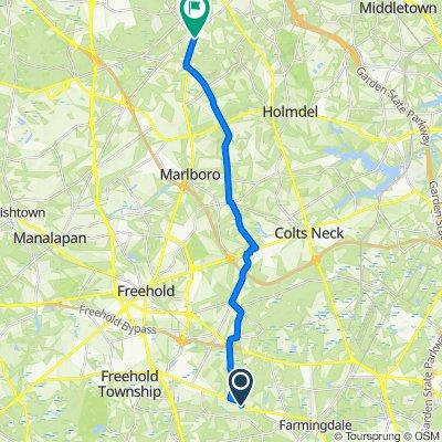 393–399 Adelphia Rd, Farmingdale to 450 NJ-79, Morganville