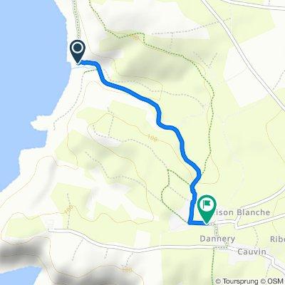 De 2 Baie d'Ecalgrain, Jobourg à 5 Hameau Mouchel, Jobourg