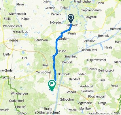 Lange Reihe 43, Dellstedt nach Eggstedter Moor 4, Eggstedt