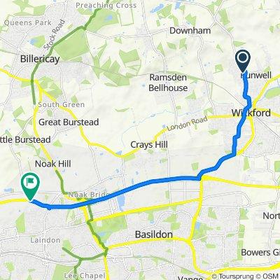 134 Alderney Gardens, Wickford to Southend Arterial Road, Basildon