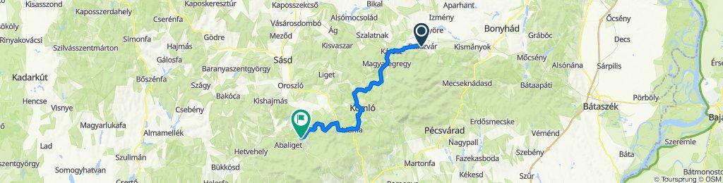 Május 1. tér 3, Szászvár to Ladik köz 9, Orfű
