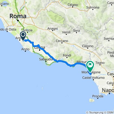 Da Via Brembo 9a, Fossignano a Unnamed Road, Mondragone