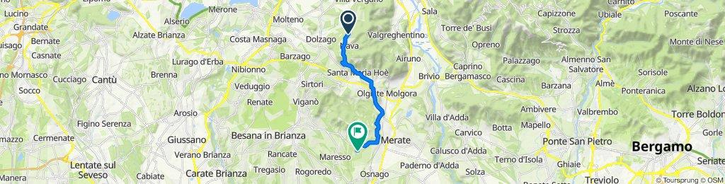 Da Vicolo Aosta 8/A, Ravellino a Via Privata Grigna 26, Quattro Strade