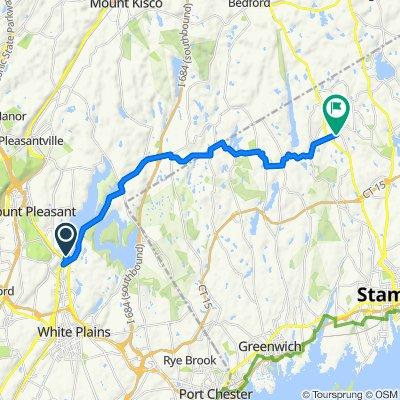 Park Dr W, Valhalla to 50 Wildwood Rd, Stamford