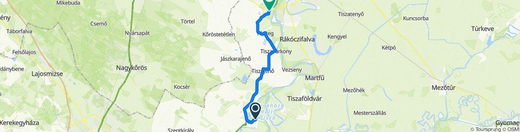 Vadász utca 11, Tiszakécske to Tószegi út 22, Szolnok
