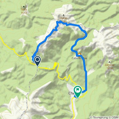 Pasul Bratocea - Saua Tigaile - Cabana Muntele Rosu - Cheia