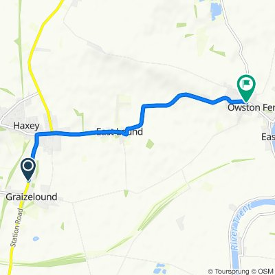 69 Haxey Lane, Doncaster to 2–4 Epworth Road, Doncaster