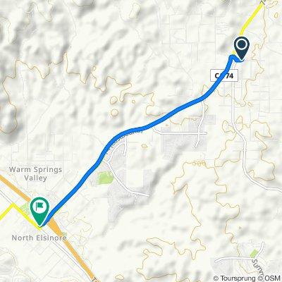 21140 Senola Ave, Perris to 18296 Collier Ave, Lake Elsinore