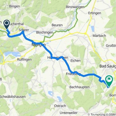 Weidenweg 8, Sigmaringendorf nach Weilerstraße 10, Bad Saulgau