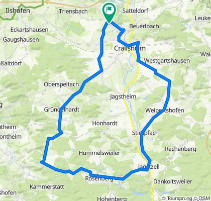 Bildäckerstraße 18, Crailsheim nach Bildäckerstraße 18, Crailsheim