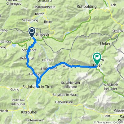 Mozart Cycle Path– Stage 13: Kössen – Lofer