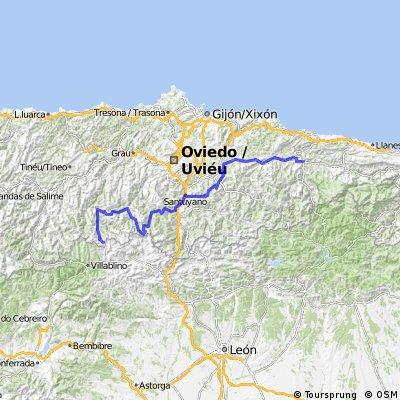 Cangas de Onís - Puerto de Somiedo