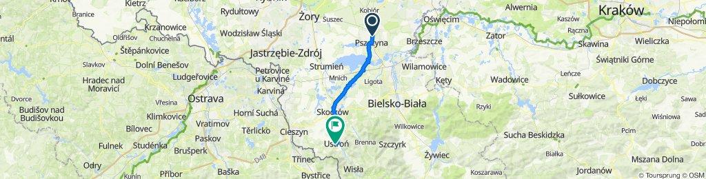 Witolda Bielasa 21–23, Pszczyna do Andrzeja Brody 28, Ustroń