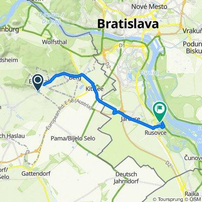 Edelstaler Straße do Slovensko