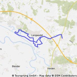 Walle - Cluvenhagener See - kurze Feierabendrunde