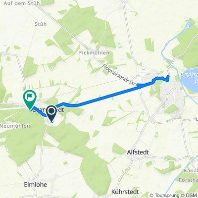 Eichenweg 33, Geestland nach Am Sportplatz 10, Geestland