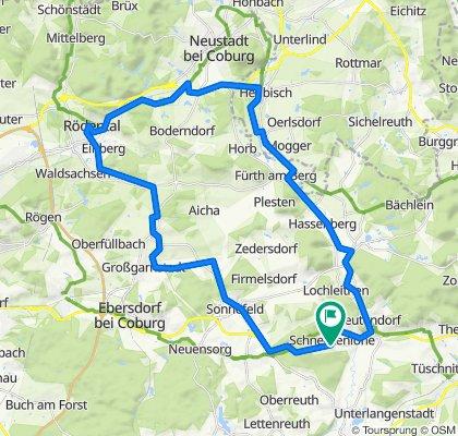 Schneckenlohe - Rödental - Mitwitz