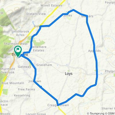 Thurmont Loop 18.6 miles
