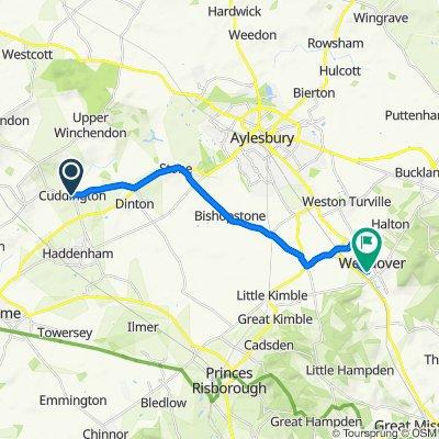 The Lodge, The Green, Aylesbury to 26 Dobbins Lane, Aylesbury
