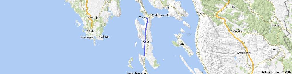 Croatia, Otok Cres, Cres - Osor